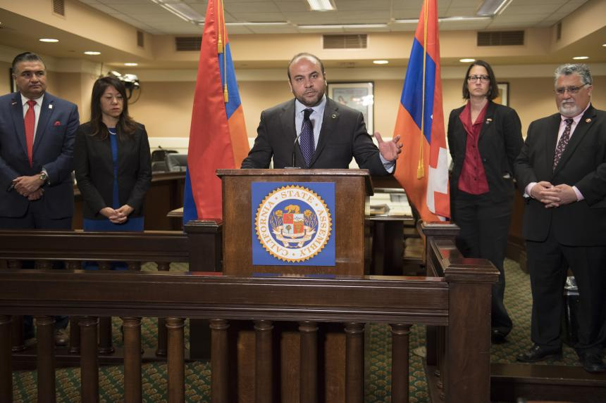 California Armenian Legislative Caucus Condemns Azeri Aggression Against The Republic of Artsakh