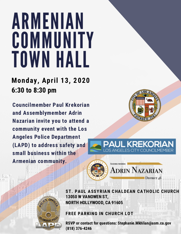 Armenian Community Town Hall