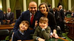 Asm. Nazarian and family