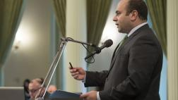 Asm. Nazarian addresses the Assembly
