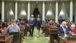 Assemblymember Nazarian honored Stephanie Klasky-Gamer as the 2019 Woman of the Year for the 46th Assembly District.